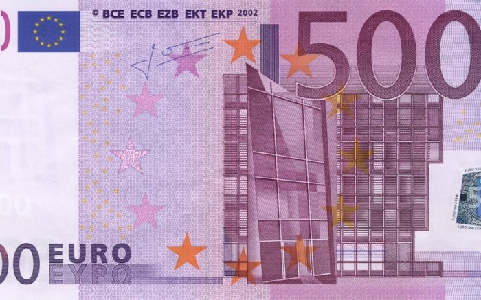 Ein 500-Euro-Schein.