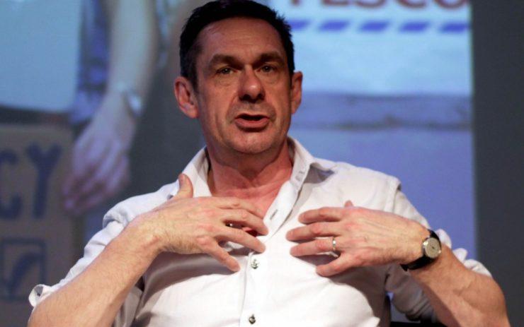 Der Autor und Journalist Paul Mason