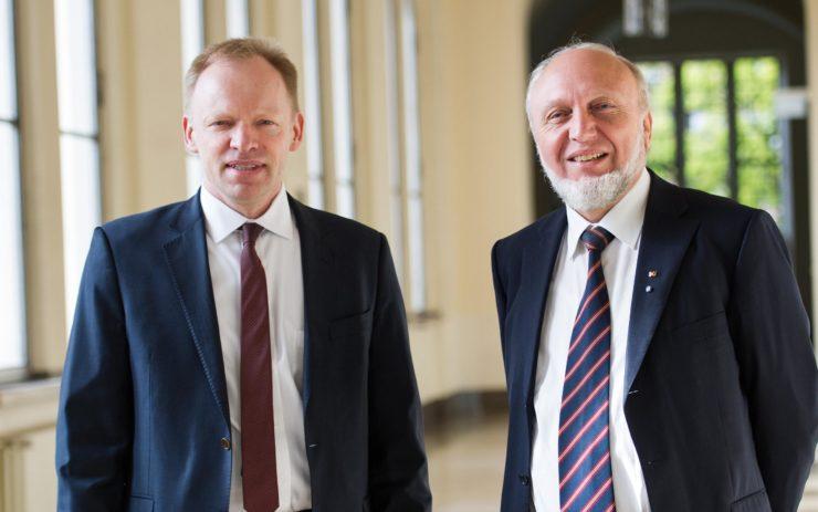 Clemens Fuest und Hans-Werner Sinn