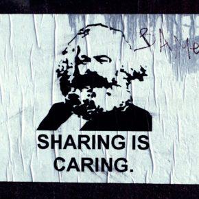 Ein Bild von Karl Marx