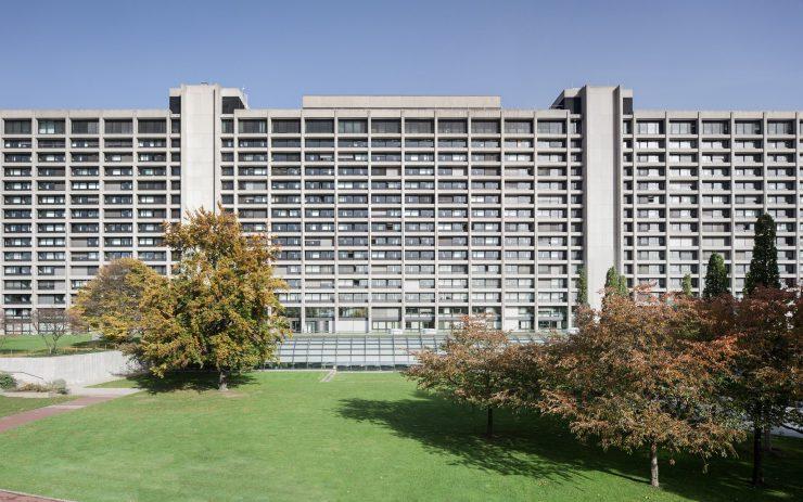Die Zentrale der Deutschen Bundesbank.