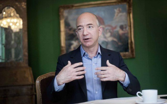 Jeff Bezos im Bayerischen Hof in München, 2012.