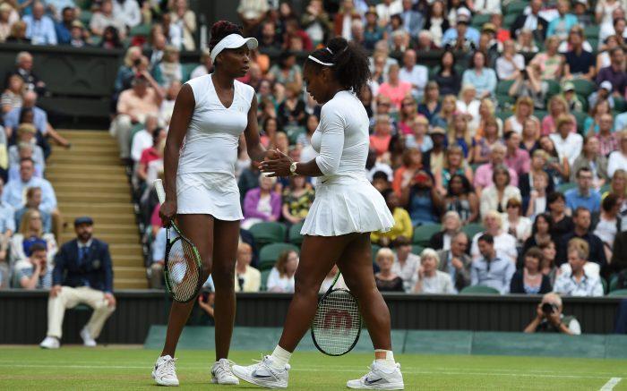 Die Schwestern Serena und Venus Williams.