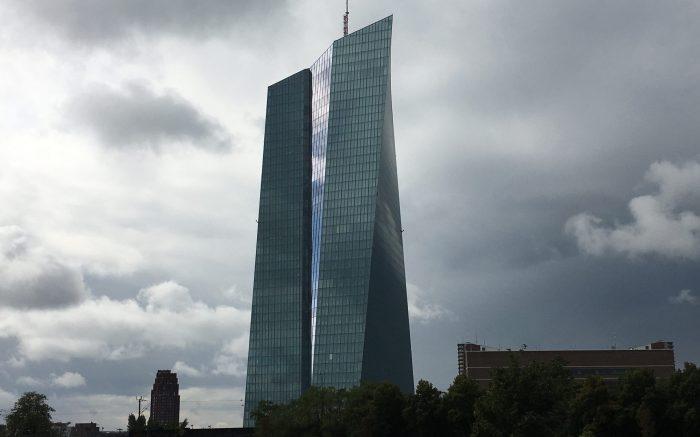 Das neue Gebäude der Europäischen Zentralbank in Frankfurt. Hüterin der Preisstabilität der Eurozone.