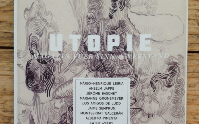 Die Zeitschrift »Utopie Magazin fuer Sinn & Verstand« im Close up.