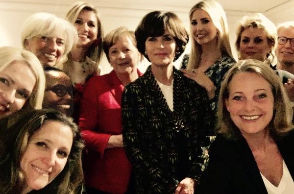 Weibliche Prominenz beim W20-Gipfel