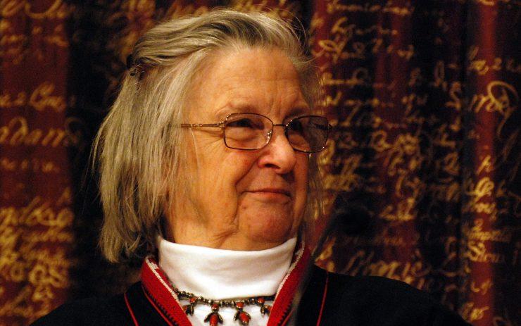 Elinor Ostrom Nahaufnahme.