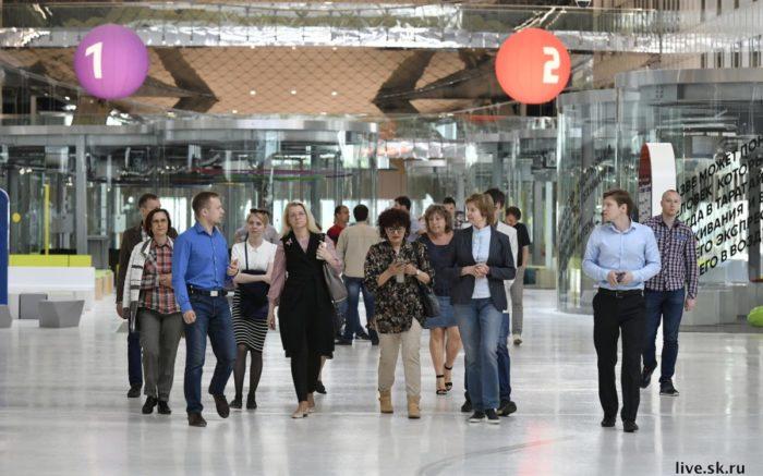 Skolkovo Gruppe interessierter Unternehmerinnen und INvestoren