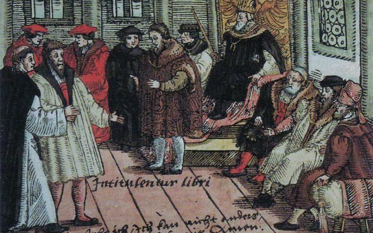 Hier wird Geldpolitik verhandelt? Luther auf dem Reichstag zu Worms 1521